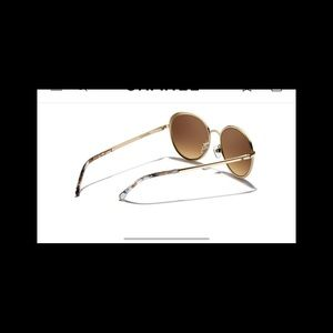 3b7af68349 CHANEL Accessories - Chanel 4206 18kt gold sunglasses 🕶